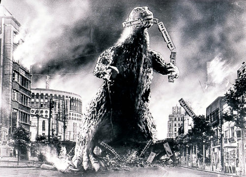 What if the Boston Bombers morphed into Godzilla and went on an rampage? Be scared, be very scared.