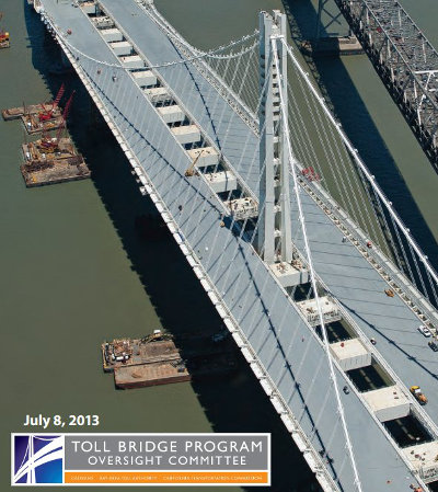 SF Bay Bridge new span to open months late due to busted bolts