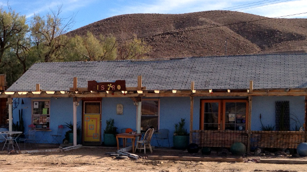 Tecopa Hot Springs Resort Bistro offers really tasty gourmet food. Seriously.