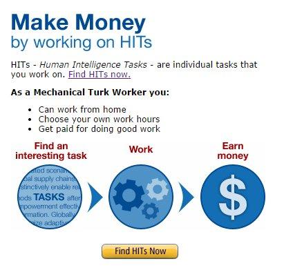 Amazon Mechanical Turk. Make pennies!