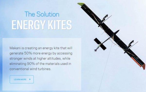 Makani airborne tethered wind wurbine