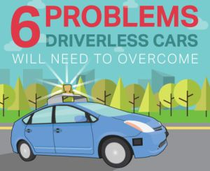 Problems for driverless cars
