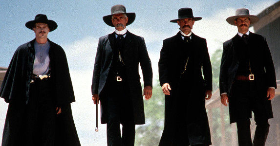 Tombstone. Great movie. Terrible role models