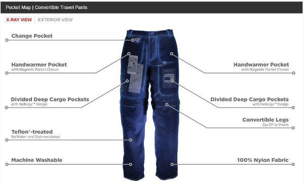 scottevest cargo pants