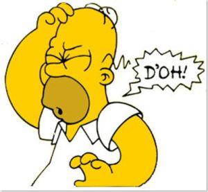 Homer. D'oh