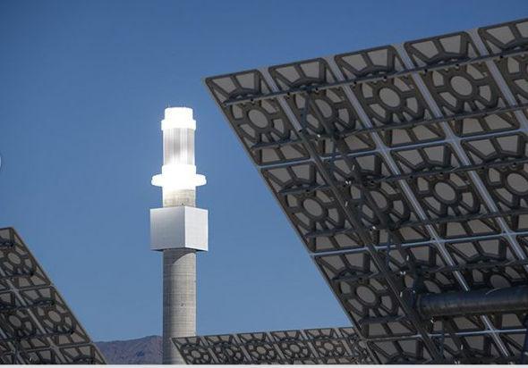 Crescent Dunes Solar Energy Plant