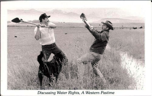 discussing water rights