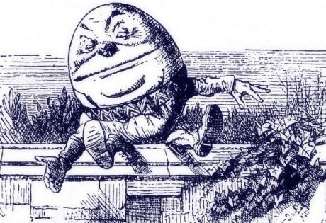 Trump will fall like Humpty Dumpty