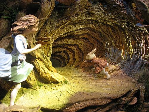 rabbit hole photo