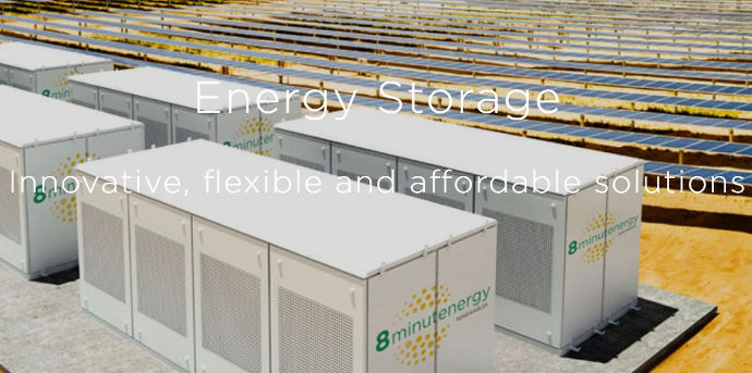8minutenergy solar / battery peaker plants