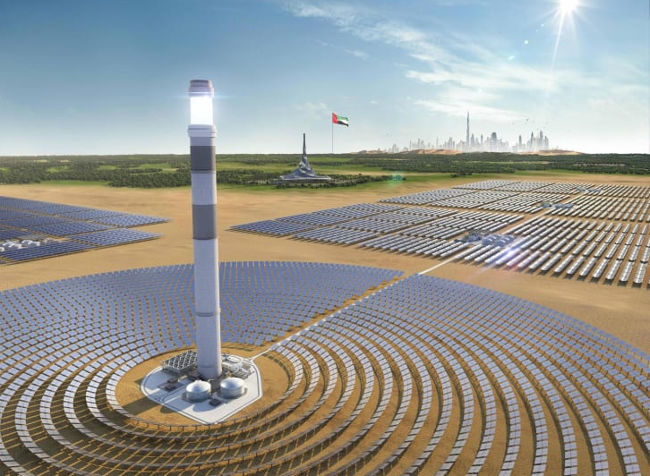 Dubia solar PV and CSP