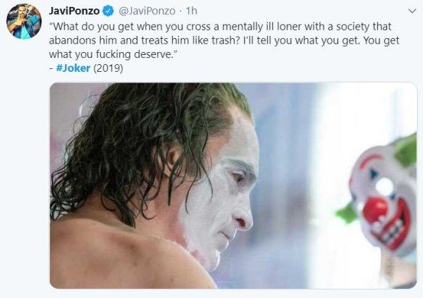 Joker. The Movie. Tweet