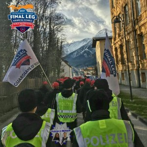 Tiroler Polizisten beim Law Enforcement Torch Run