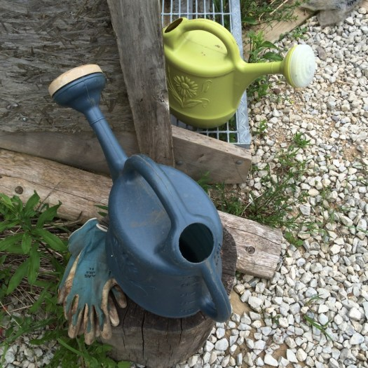 Watering cans plastic