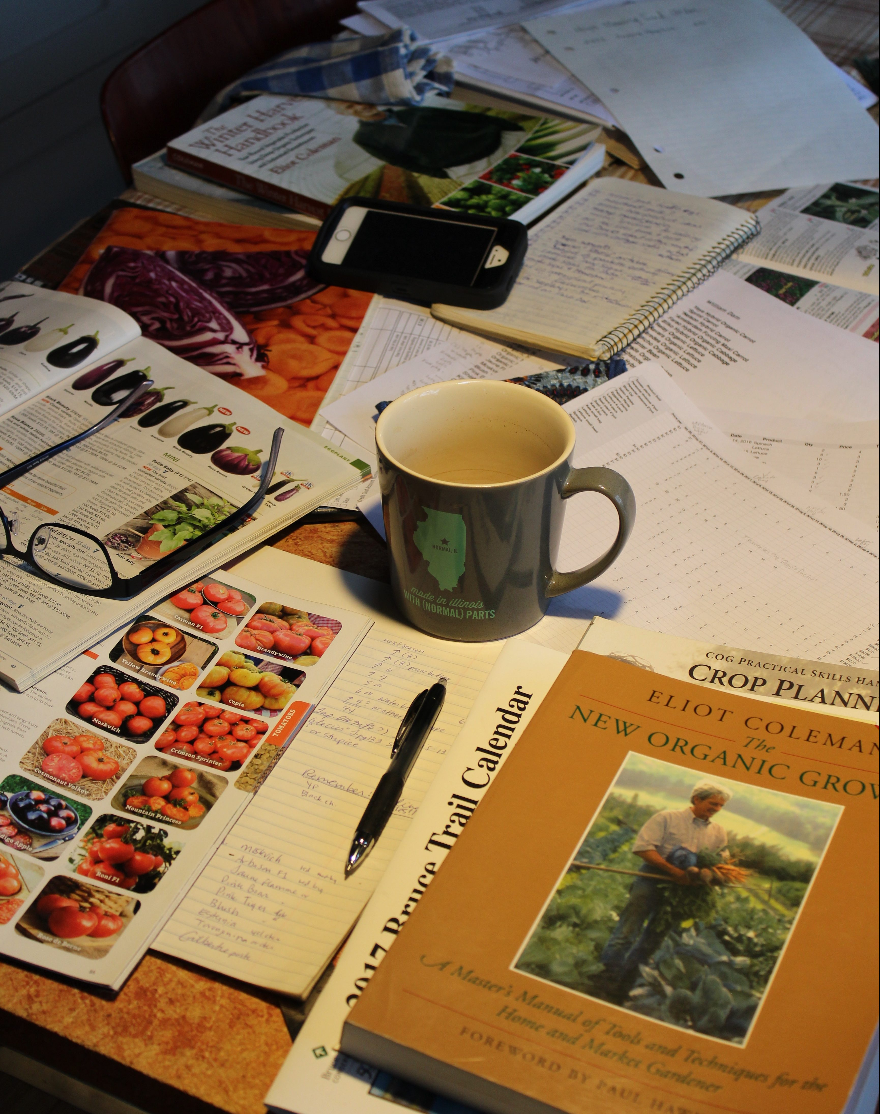 garden planning books and catalogues