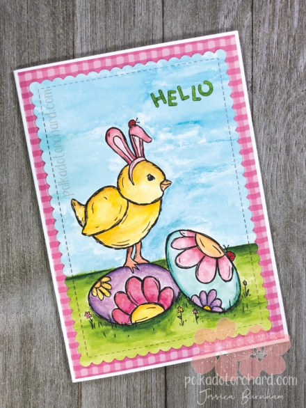 EGGS-tra Special Easter Card Front