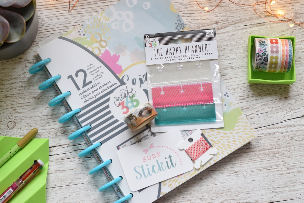 Happy Planner from Suzy Stick It