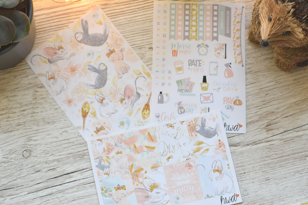harriet wright designs weekly kit