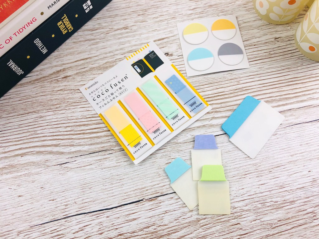 hobonichi page flags