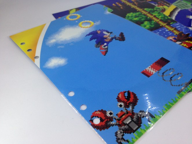 Sonic planner dividers