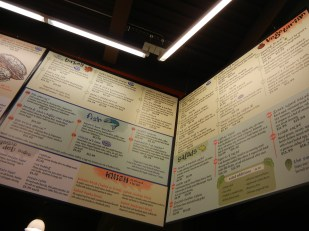 Zingerman's menu
