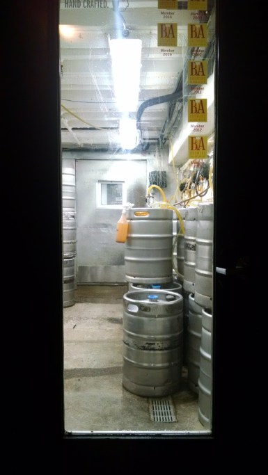 Basement kegs