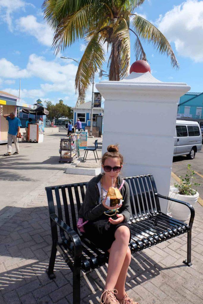 polkadotsandpixiedust.com coconut water nassau bahamas