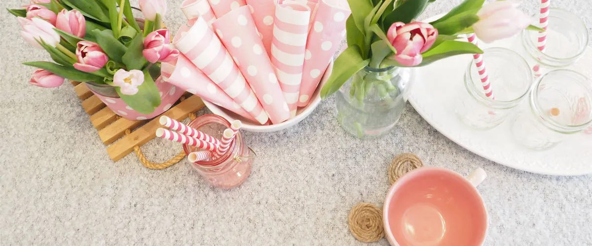Minnie Inspired Mothers Day Tablescape