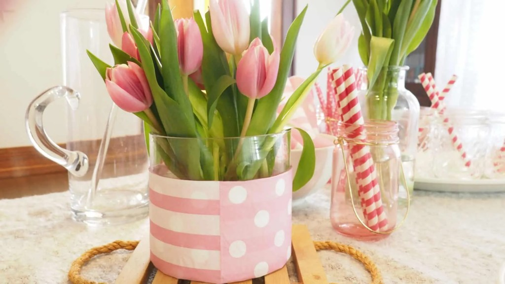 minnie mouse mothers day tulips