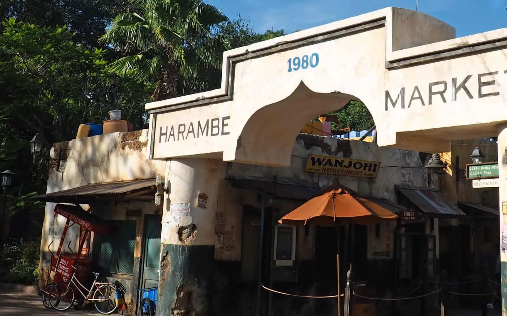Photo Ops in Animal Kingdom's Harambe Market