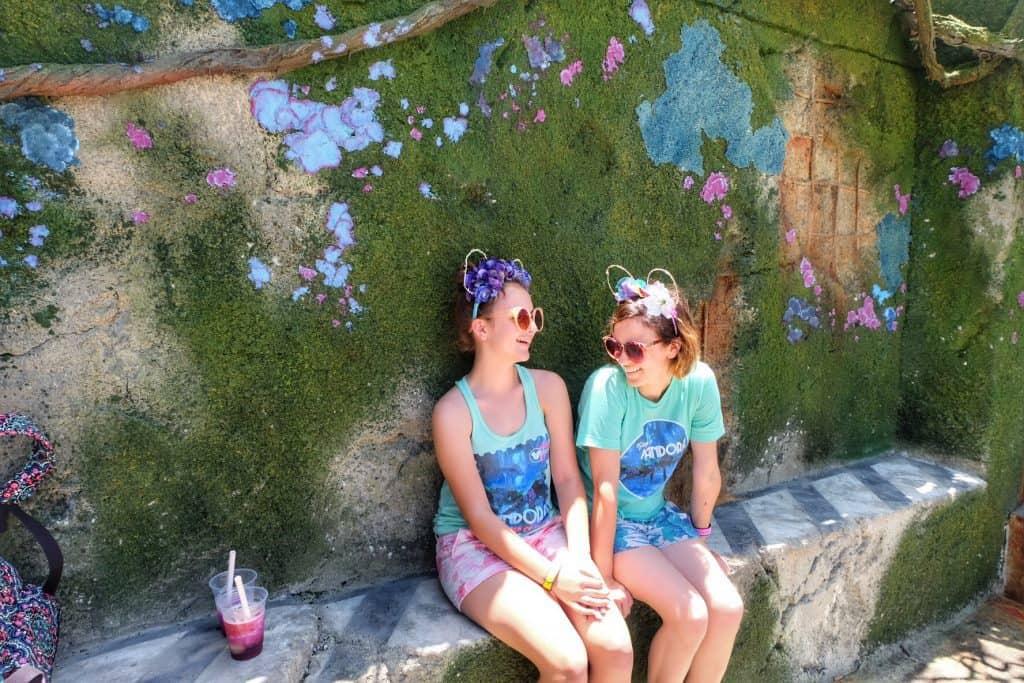Moss Wall World of Avatar Disney Pandora