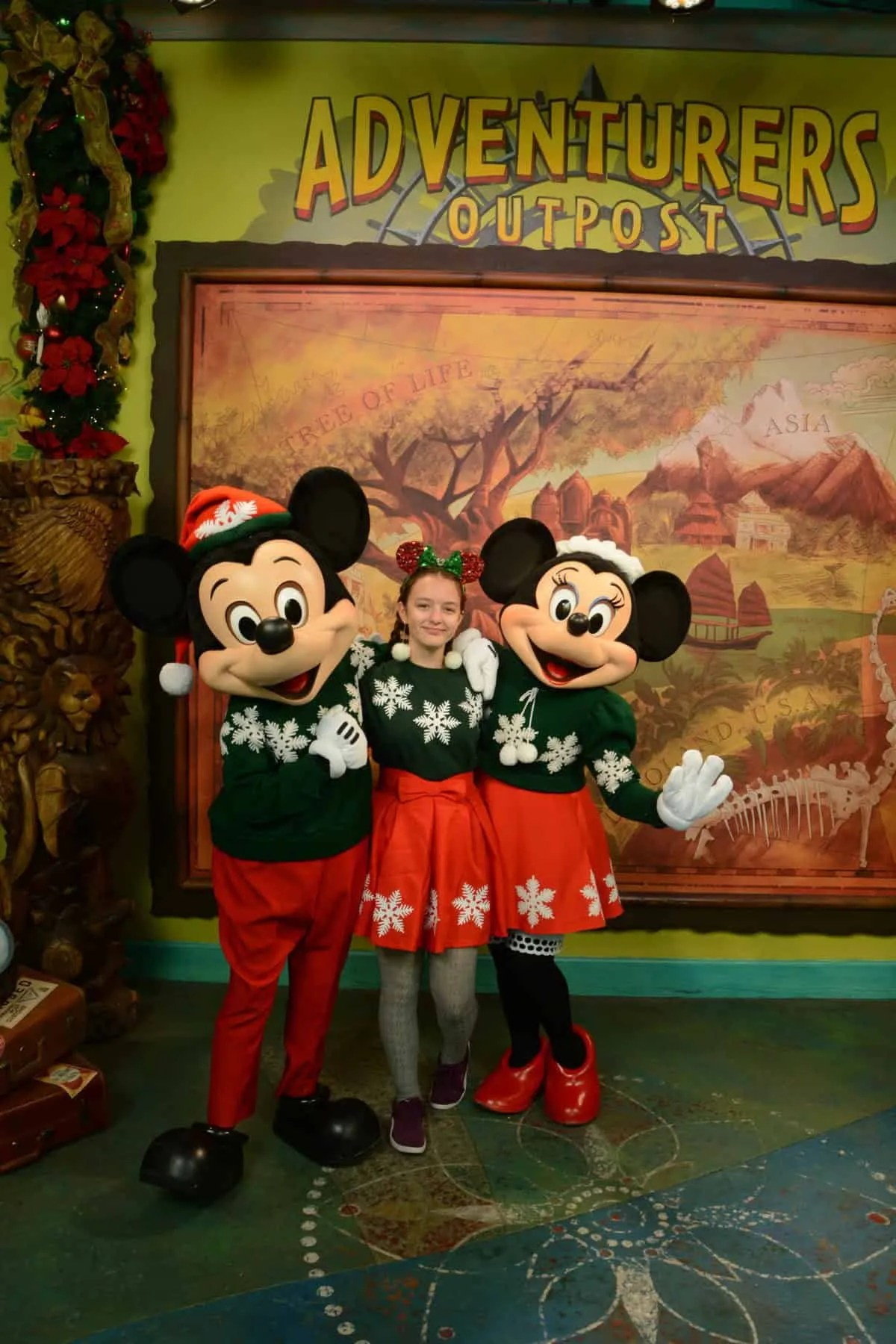 DIY Minnie Mouse Holiday Outfit Instructions and Template