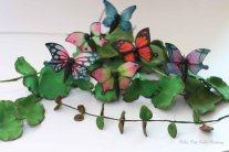 gumpaste butterflies
