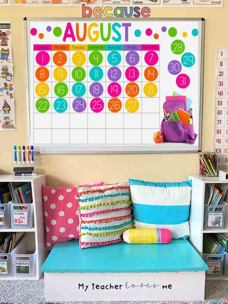 classroom digital calendar
