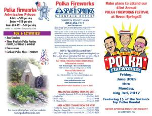 2017 Polka Fireworks Brochure Page 1