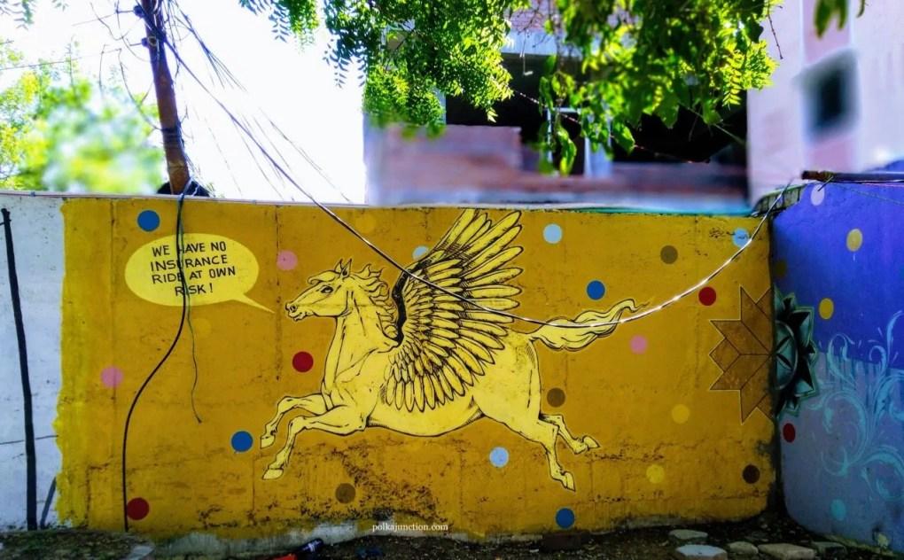 Street art in hyderabad