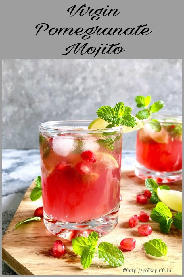 Virgin Pomegranate Mojito | Pomegranate Mojito