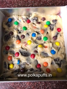 Loaded Oreo & M&M Squares