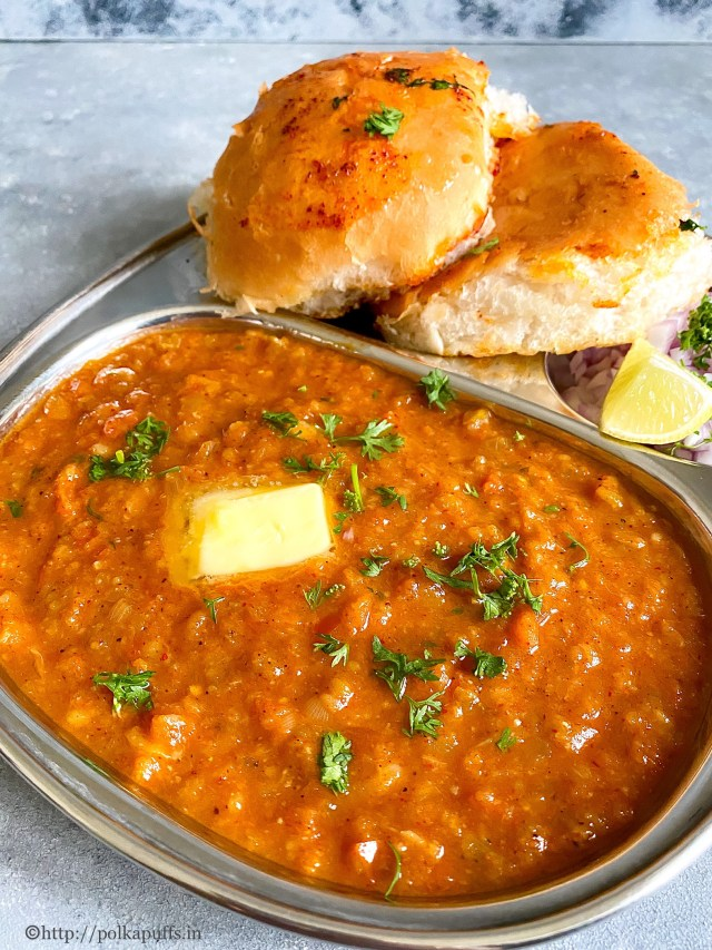 Bombay Pav Bhaji | How to Make Mumbai Style Pav Bhaji