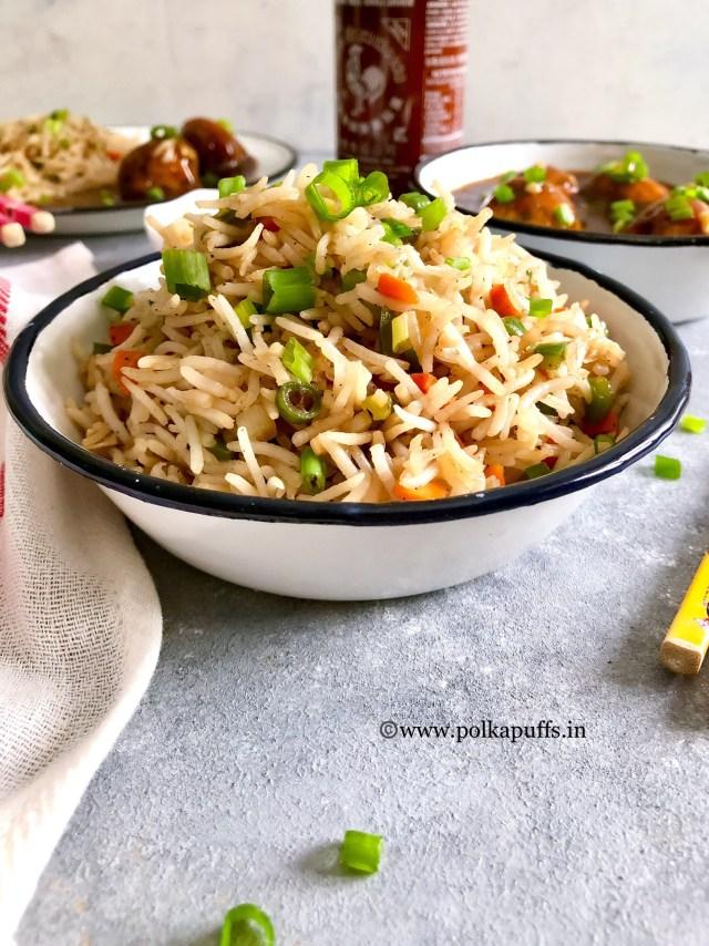 Veg Fried Rice   How to make Veg Fried Rice   GF & Vegan