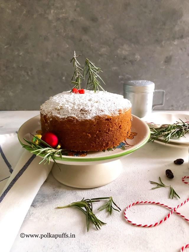 Spiced Orange and Cranberry Cake