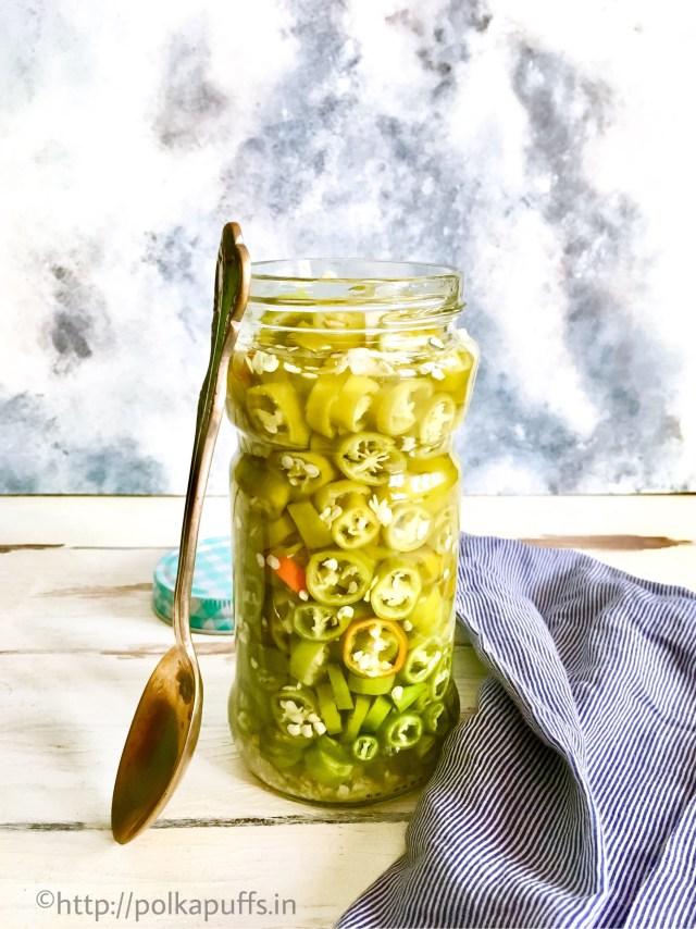 Fridge Pickled Jalapeno Peppers