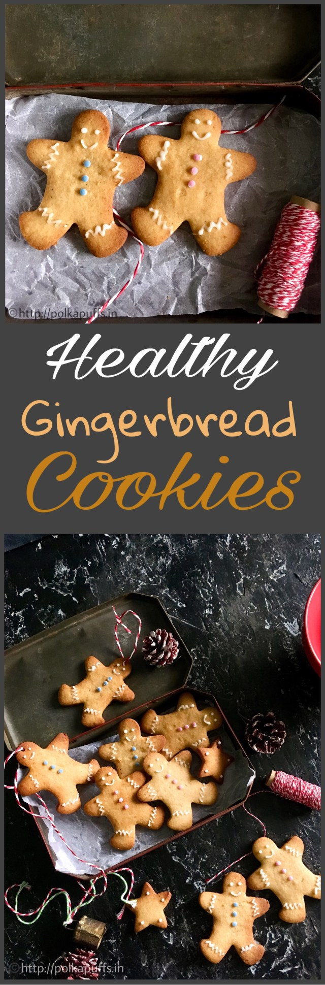 Healthy gingerbread cookies egg free