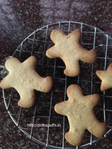 Healthy gingerbread cookies egg free