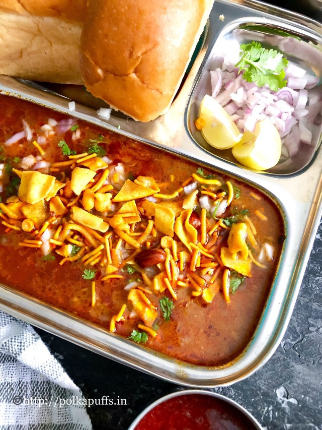Kolhapuri Misal Pav | How to make Misal Pav