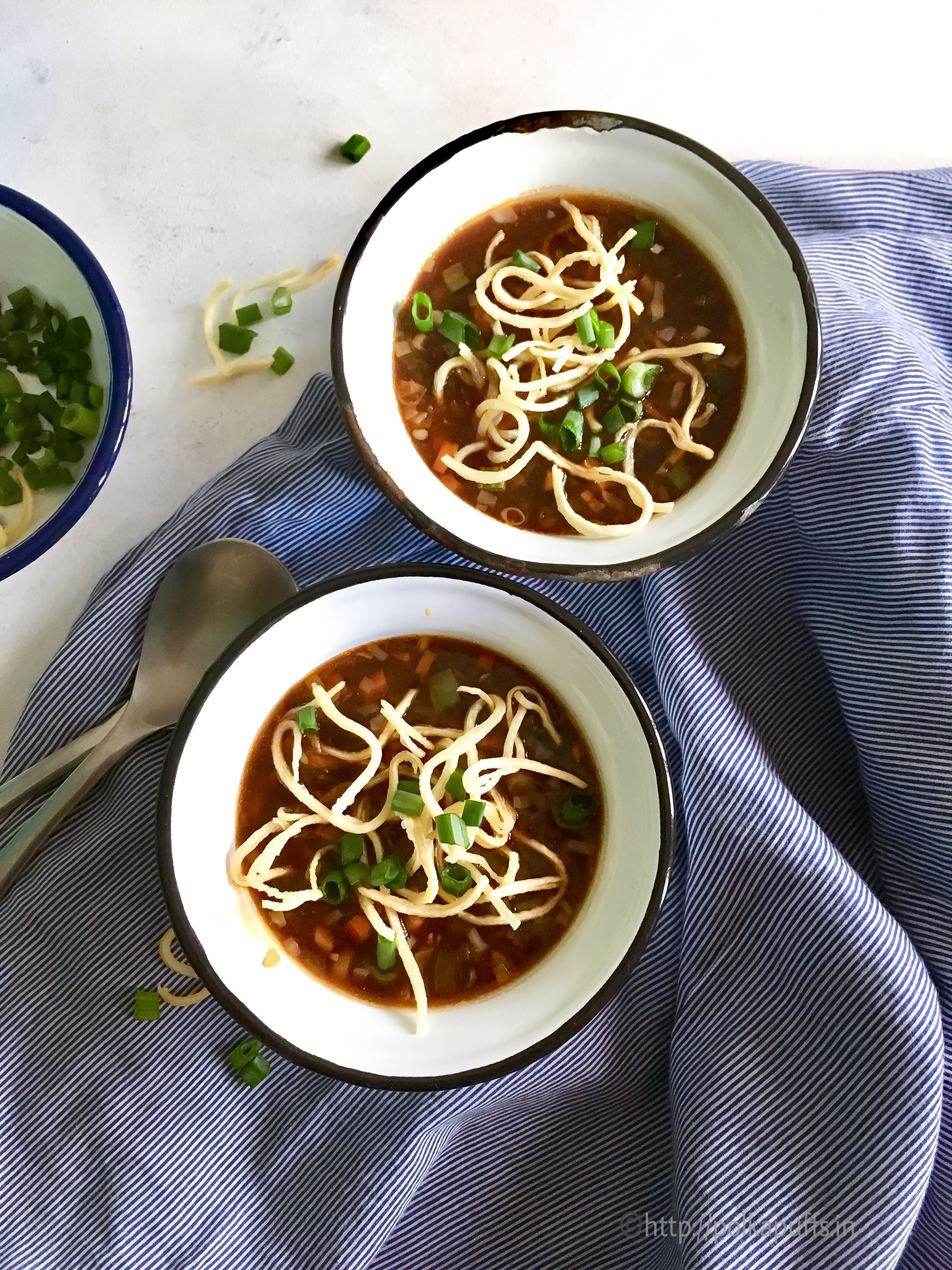 Vegetable Manchow Soup - Restaurant Style Manchow Soup Recipe Can