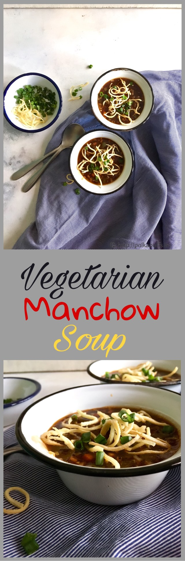 Vegetable Manchow Soup | Restaurant Style Manchow Soup Recipe