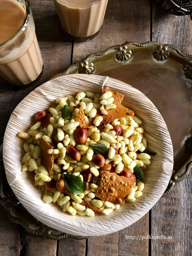Roasted Murmura Chivda Recipe | Puffed Rice Chivda