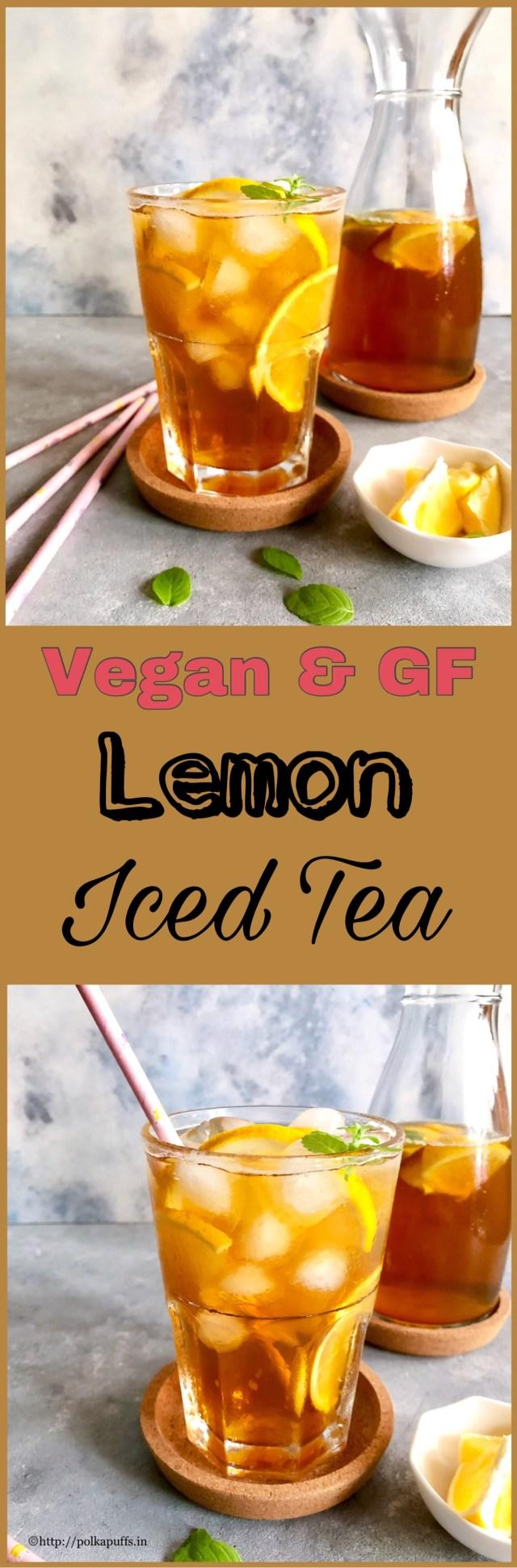 Lemon Iced Tea   How to make Lemon Iced Tea