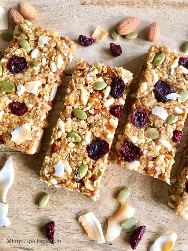 No Bake Granola Bars | Vegan & Gluten free | Stove Top Granola Bars